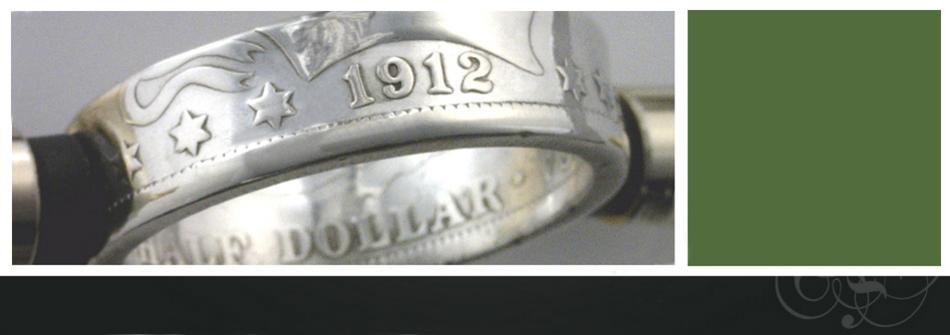The Coin Smith Coin Ring Gallery